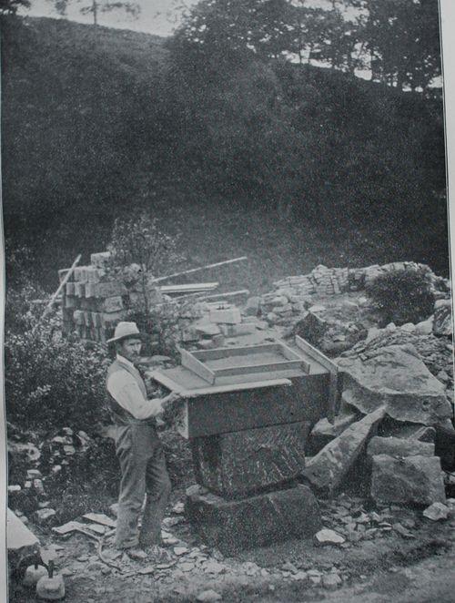 Sickergill stone cutting